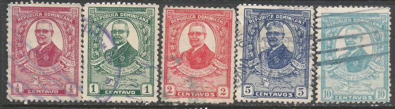 DOMINICAN REPUBLIC 249-53 O009-2