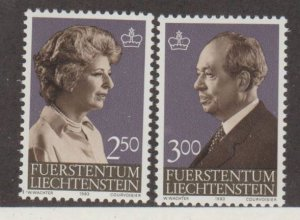 Liechtenstein Scott #767-768 Stamps - Mint NH Set