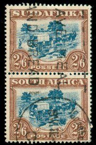MOMEN: SOUTH AFRICA SG #37 1927-30 USED LOT #60030