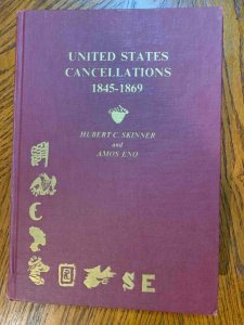 US Cancellations 1845-1869 by Skinner & Eno 1980 ,Stamp Philately Book