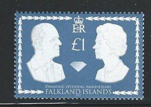 Falkland Islands  MNH sg  1087