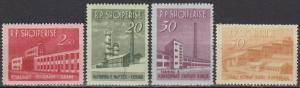 Albania #697-700 F-VF Unused CV $26.10 (B1004)
