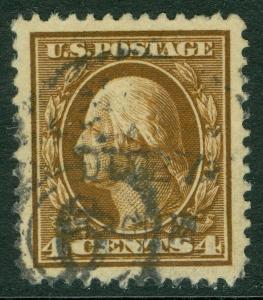 USA : 1911. Scott #377 Used. Superb Jumbo. PSE Certificate Graded 98J. SMQI $400