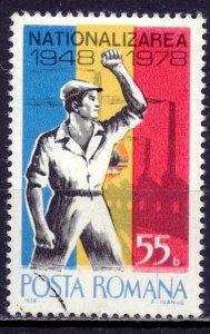 Romania. 1978. 3516. Nationalization. USED.