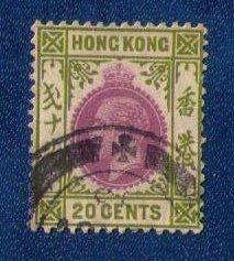 HONG KONG Sc 116 USED F-VF