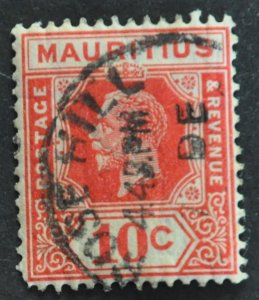DYNAMITE Stamps: Mauritius Scott #187 – USED