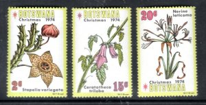 BOTSWANA MNH VF Flowers Christmas 1984