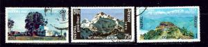 Nepal 270-72 Used 1973 set