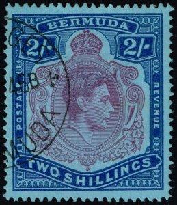Bermuda #123a King George VI; Used (4Stars)