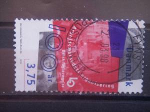 DANMARK, 1998, used 3.75k, Danish Confederation of Trade Unions, Scott 1086
