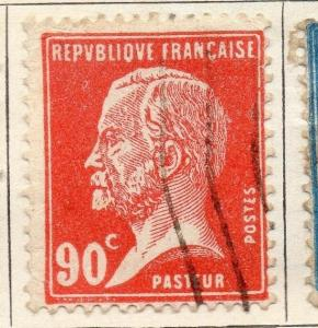 France 1925-26 Early Issue Fine Used 90c. 112340
