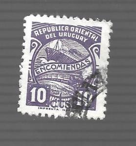 Uruguay 1947 - U - Scott #Q71