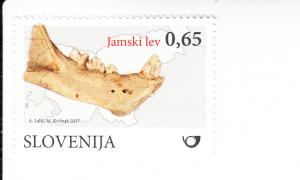 2017 Slovenia Mammal Fossils Cave Lion (Scott 1213) MNH