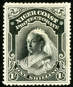 Niger Coast Protectorate Stamps # 48 MLH VF Scott Value $70.00