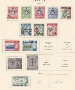 JAMAICA ^^^^^^195658^^^^mint & used    collection on page  $$$@ha909jam