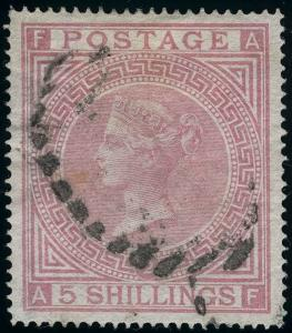 Great Britain Scott 57a Plate 2 Gibbons 127 Plate 2 Used Stamp
