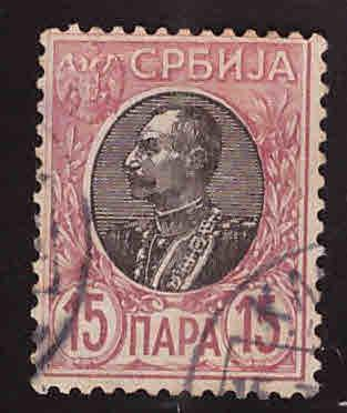 Serbia Scott 90  Used stamp