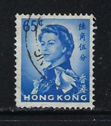 Hong Kong 211 Used 1962 issue