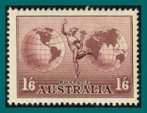 Australia 1948 Airmail, MNH  #C5,SG153ab