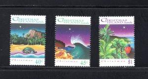 Christmas Island 354-356, VF, MNH, Post Office Fresh,CV $5.00 ...1370068/9/70/71