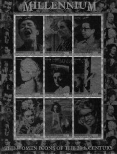Afghanistan The Women Icons F.Kahlo/Loren/Taylor Shlt (9)