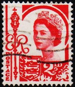 Great Britain(Jersey). 1958 2 1/2d S.G.9 Fine Used