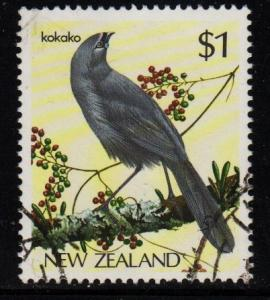 New Zealand  #768 Kokako  - Used