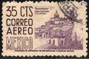MEXICO C191, 35¢ 1950 Definitive wmk 279 Used. VF. (619)