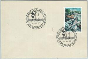 70884 - SPAIN - Postal History - Special Postmark on COVER 1977:  SAILING