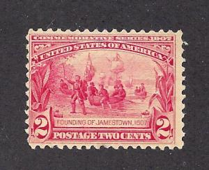 329 Mint,OG,H... SCV $27.50