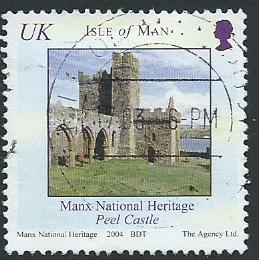 Isle of Man  VFU SG 1163  inscribed UK
