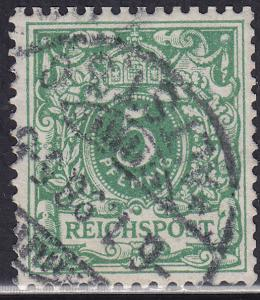 Germany 47 Reichspost 5Pf 1889