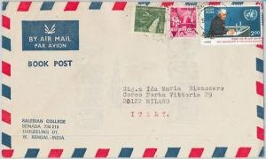 59191  -   INDIA  - POSTAL HISTORY: COVER to ITALY - 1985