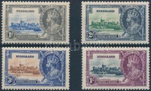 Rhodesia and Nyasaland stamp George V. set Hinged 1935 Mi 45-48 WS201997