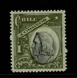 Chile SC# 78 Mint Hinged / Hinge Rem - S7389