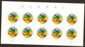 US 4893 Sea Surface Temperatures global forever sheet (10 stamps) MNH 2014