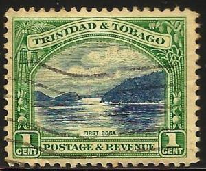 Trinidad and Tobago 1935 Scott# 34a Perf 12 Used