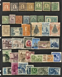 STAMP STATION PERTH Columbia #42 Mint / Used Selection - Unchecked
