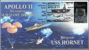 19-206, 2019, Moon Landing, Pictorial Postmark, Event Cover, Apollo 11, Alameda