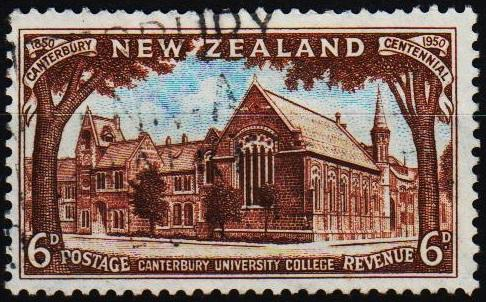 New Zealand. 1950 6d S.G.706 Fine Used