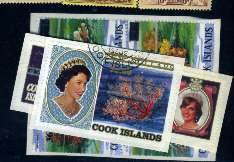 Cook Island #738-40 Used F-VF Cat$31.50
