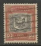 Dominican Republic 128 VFU ARMS R633-2