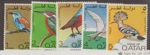 Qatar Scott #279-283 Stamps - Mint Set