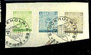 SWEDEN #479-83 USED FVF Cat $25
