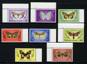 NORFOLK ISLAND 1977 Butterflies & Moths Part Set SG 179 to SG 194 MNH
