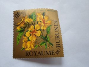 burundi stamp cto og mint hinged. # 2