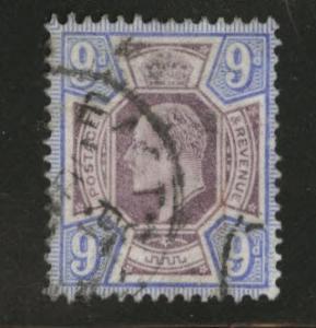 Great Britain Scott 136 KEVII 1902 9p stamp CV $70