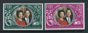 Fiji   QEII SG 474 - 475 MVLH