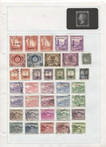 STAMP STATION PERTH - Pakistan #180+ Used Stamps on Paper- Unchecked
