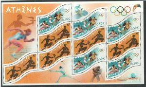 2004   FRANCE  - SG:MS 3990 - SUMMER OLYMPICS,ATHENS - UNMOUNTED MNT